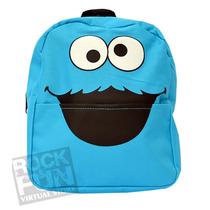 Cookie Monster Mochila Mini-backpack Importada 100% Original