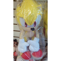 Mochila Sonic Peluche The Hedgehog Original Sega