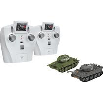 Par Tanques A Radio Control, Tiger I T34/85, Vstank 1:72