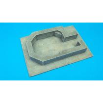 Modelismo Diorama Militar Bunker Para Flak Antiaereo 1/35