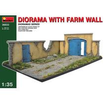 Edificio Modelo - Diorama Con Granja 1:35 Miniart Plástico
