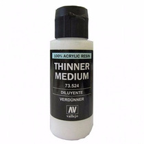 Diluyente Para Pintura Thinner Acrilicos Vallejo 60ml 73524