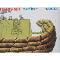 2a Guerra Mundial Escala 1/35 Set Tamiya Barricada Sacos