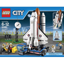 Jh Lego City Space Port 60080 Spaceport Building Kit