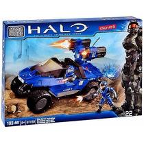 Jh Halo Mega Bloks Set #97159 Blue Series Rockethog