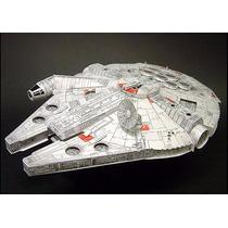 Halcon Milenario Star Wars Para Armar En Papel Papercraft