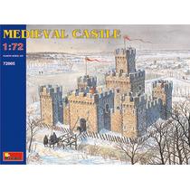 Castillo Modelo - Medieval 1:72 Kit Miniart Plástico