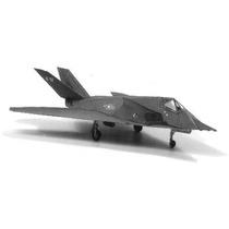 Avión Militar F117 Stealthfight Modelo Que Vuela Armar Papel