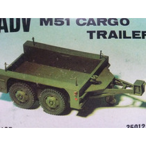 1/35 Modelismo A Escala Adv M51cargo Trailer C/faltante $100
