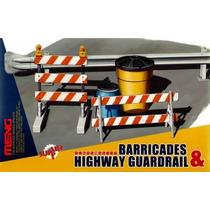 Modelo Carretera - Barricadas Y Barandilla 1:35 Meng Plásti