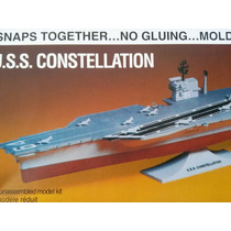 1/450 Modelismo A Escala Barco Monogram U.s.s. Constellation
