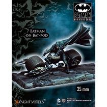 Batman On Batpod, Batman Miniature Game, Figura P/armar Km