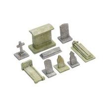 Modelo De Tren Lápida Set - Lápidas Del Cementerio Scaled