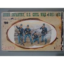Union Infantry, U.s. Civil War 1861 1865 1/35 Dragon