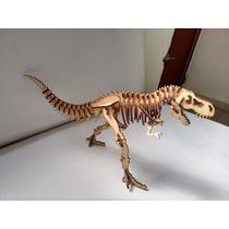 Rompecabezas Dinosaurio En Mdf