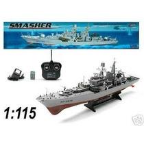 Barco De Guerra A Control Smasher Rc Ht-2879, Escala 1:115