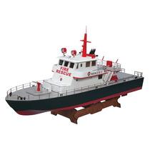 Aquacraft Barco Bombero Rescate Luz 2.4ghz Rtr 97 Cm Largo