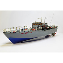 Barco Torpedo Ht-2877a Rtr Rc Bote Lancha Submarino Agua