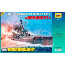Barco Hms Dreadnought Esc. 1/350 Zvezda Nuevo!