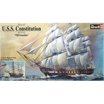 Revell Barco Uss Constitution 1/96 1223 Pzs ! Armar Y Pintar