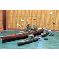 Lee Mi Anunc X Batalla Nav Lote 14 Miniatura 1/700 & 1/1000