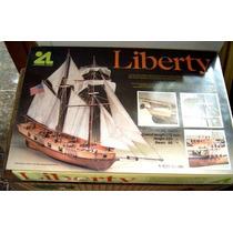 Barco Liberty De Artesania Latina Escala 1:100