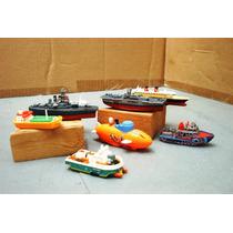 Lee Mi Anunc Lote 8 Barco Miniaura Metetal Esc 1/2250