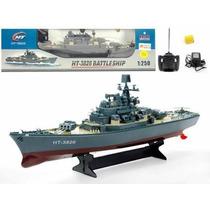 Barco Buque De Guerra Ht-3826 R/c, 3 Canales Escala 1:250