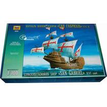 Zvezda Barco San Gabriel Galeon 1/100 Armar Pintar / Revell