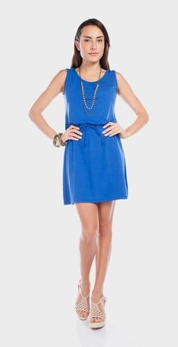 Vestidos De Baño Azul Rey:Moderno Y Lindo Vestido Sin Mangas Con Gorro, Azul Rey – $ 45000 en
