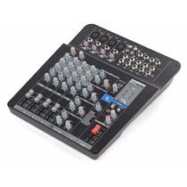 Mezcladora Audio Samson Mixpad Mxp124fx 12canales Usb Xlr