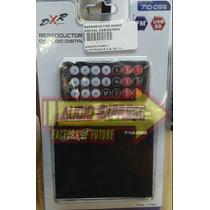 Reproductor Audio Digital Usb/sd/mmc Control Dxr710099