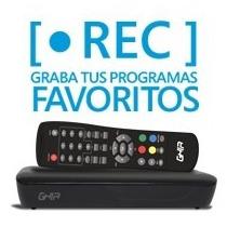 Ghia Sintonizador Digital Para Tv Con Grabacion En Usb