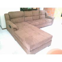 Sala Esquinera King Lounge - Salas Conva 100% Garantizada!!!