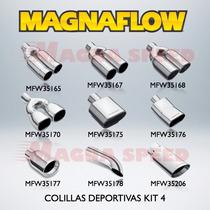 Colillas Deportivas Magnaflow Tips Set 4