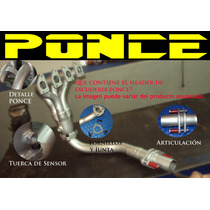 Header Ponce Racing Para Spark Gm Todos