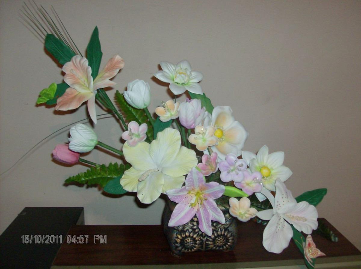 Moldes Flores De Fomi Fomy Foamy !!!! - $ 499.00 en MercadoLibre