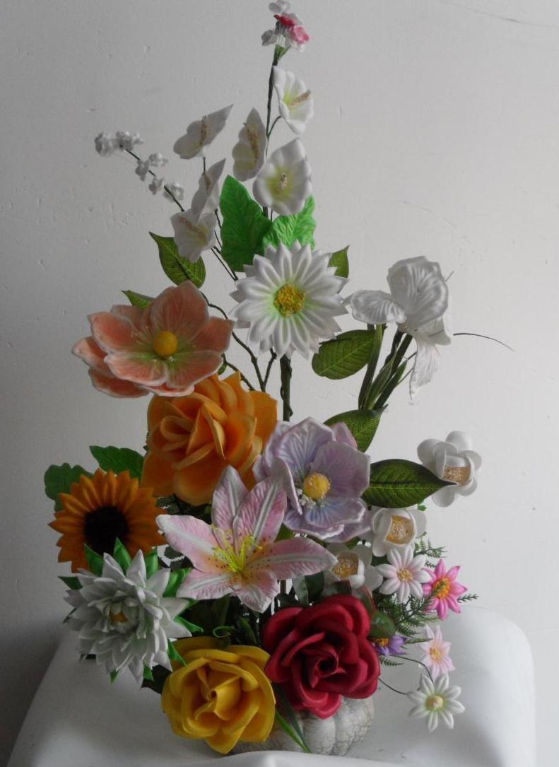 Moldes para hacer flores fomi fomy foamy envio gratis for Ver decoraciones