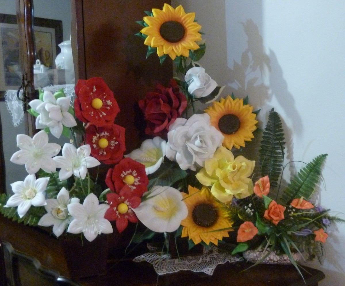 Moldes Para Hacer Flores Con Fomi - MercadoLibre México