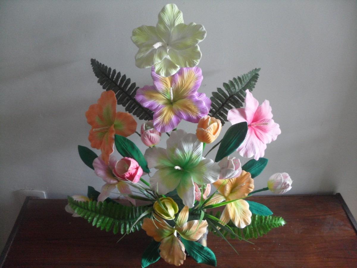 Como hacer flores de fomi sin moldes - Imagui