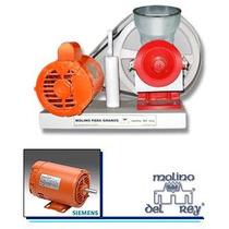 Molino Del Rey Nixtamal Granos Electrico 1/2 Hp Siemens