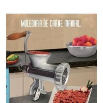 Molino De Carne Manual Del #12 Envío Gratis En 3