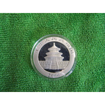 Moneda 1 Onza Troy Osito Panda China 2006. Envio Gratis
