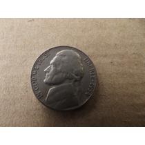 Moneda De 5 Centavos Usa 1954