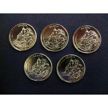 Cuarto De Dolar Parque Nacional Acadia 24kt