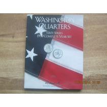 Album Colecionador Washington Quarters State Series 1999