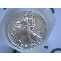 2014 Silver Eagle Onza De Plata Americana Nueva Pura