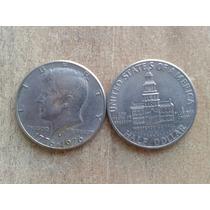 Half Dollar Kennedy Conmemorativo 1776-1976