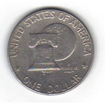 1 Dollar 1776 - 1976 Moneda Bicentenario Independencia - Maa