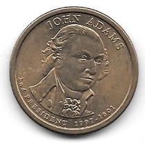 John Adams Moneda Presidentes Estados Unidos America 2007d